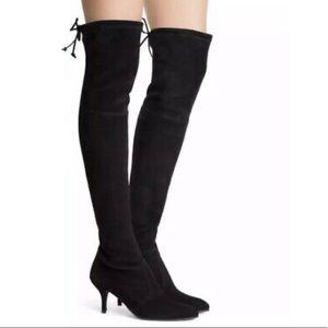 Stuart Weitzman Tiemodel Suede Over The Knee Boots
